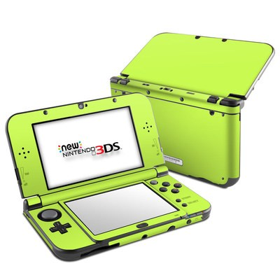Nintendo 3DS LL Skin - Solid State Lime
