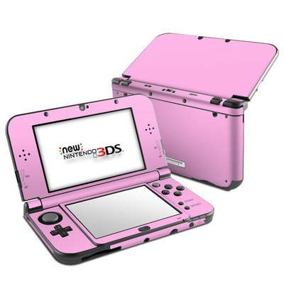 Nintendo 3DS LL Skin - Solid State Pink