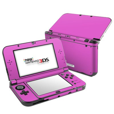 Nintendo 3DS LL Skin - Solid State Vibrant Pink