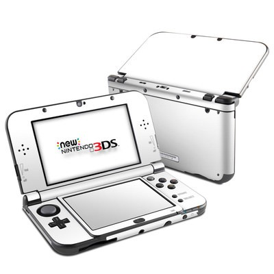 Nintendo 3DS LL Skin - Solid State White