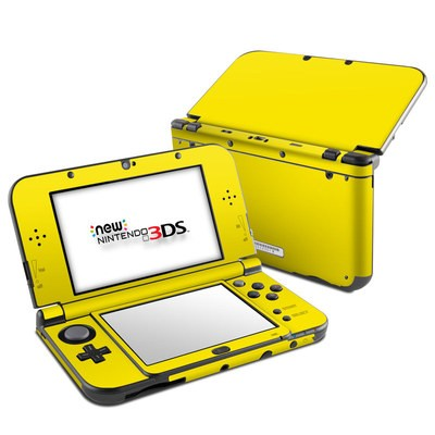 Nintendo 3DS LL Skin - Solid State Yellow
