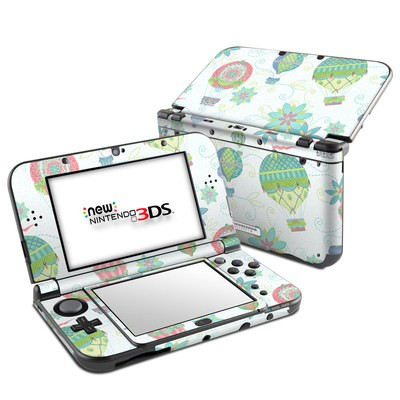 Nintendo 3DS LL Skin - Up and Away