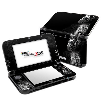 Nintendo 3DS LL Skin - White Tiger