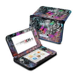 Nintendo 3DS XL Skin - Butterfly Wall
