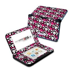 Nintendo 3DS XL Skin - Skully Pink