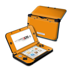 Nintendo 3DS XL Skin - Solid State Orange