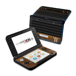 Nintendo 3DS XL Skin - Wooden Gaming System