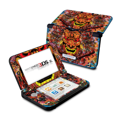 Nintendo 3DS XL Skin - Asian Crest