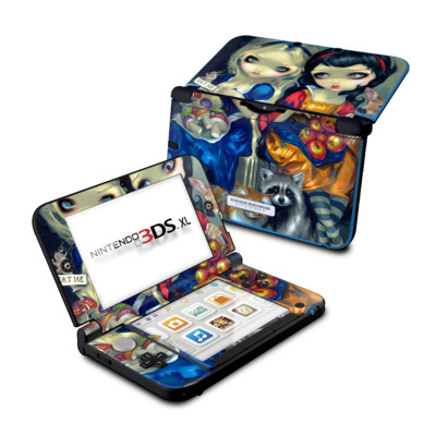 Nintendo 3DS XL Skin - Alice & Snow White