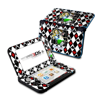 Nintendo 3DS XL Skin - Alice