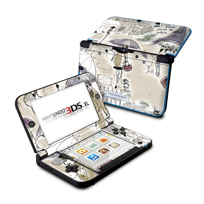 Nintendo 3DS XL Skin - Ah Paris