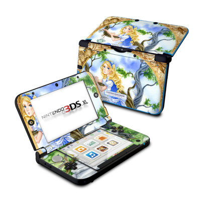 Nintendo 3DS XL Skin - Alice's Tea Time