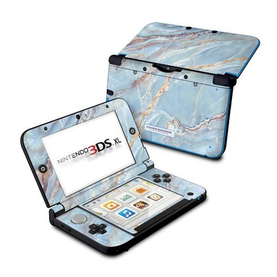 Nintendo 3DS XL Skin - Atlantic Marble