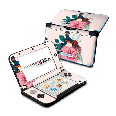 Nintendo 3DS XL Skin - Barn Swallows