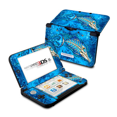 Nintendo 3DS XL Skin - Barracuda Bones