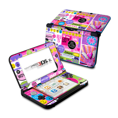 Nintendo 3DS XL Skin - BFF Girl Talk