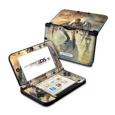 Nintendo 3DS XL Skin - The Black Baron