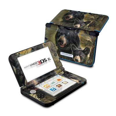 Nintendo 3DS XL Skin - Black Bears