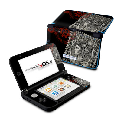 Nintendo 3DS XL Skin - Black Penny
