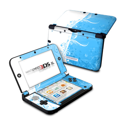 Nintendo 3DS XL Skin - Blue Crush