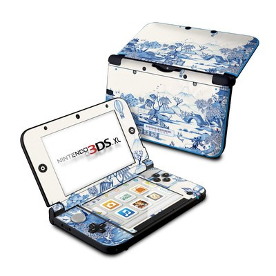 Nintendo 3DS XL Skin - Blue Willow