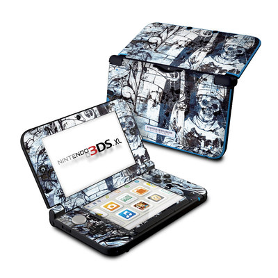 Nintendo 3DS XL Skin - Black Mass