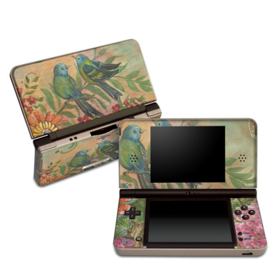 Nintendo 3DS XL Skin - Splendid Botanical