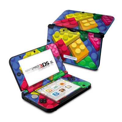 Nintendo 3DS XL Skin - Bricks