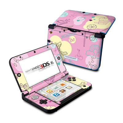 Nintendo 3DS XL Skin - Pink Candy
