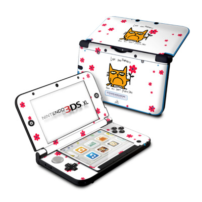 Nintendo 3DS XL Skin - Catwad Happy