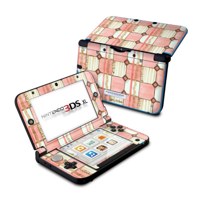 Nintendo 3DS XL Skin - Chic Check