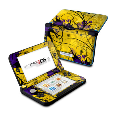 Nintendo 3DS XL Skin - Chaotic Land