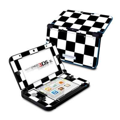 Nintendo 3DS XL Skin - Checkers
