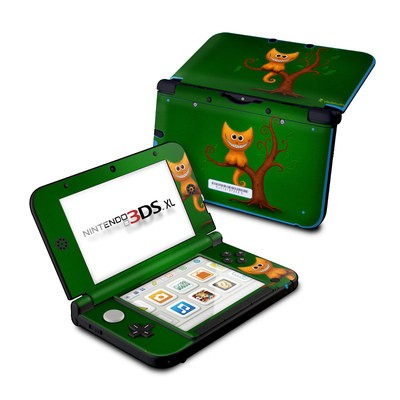 Nintendo 3DS XL Skin - Cheshire Kitten