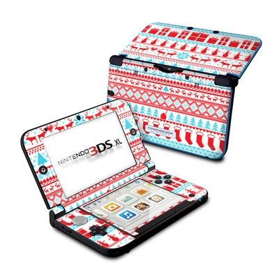 Nintendo 3DS XL Skin - Comfy Christmas