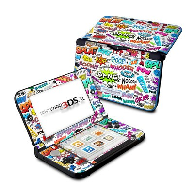 Nintendo 3DS XL Skin - Comics