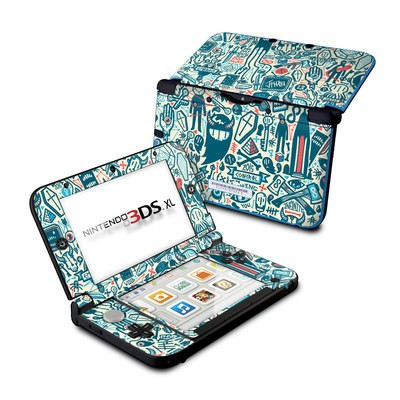 Nintendo 3DS XL Skin - Committee