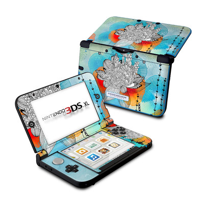 Nintendo 3DS XL Skin - Coral