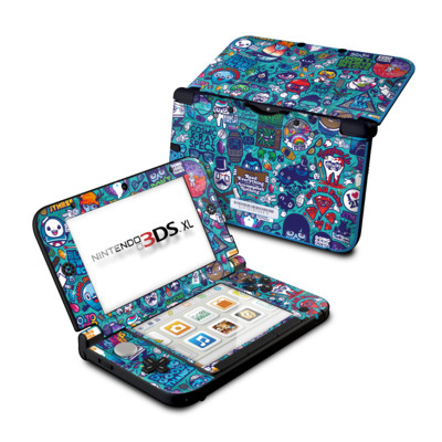 Nintendo 3DS XL Skin - Cosmic Ray