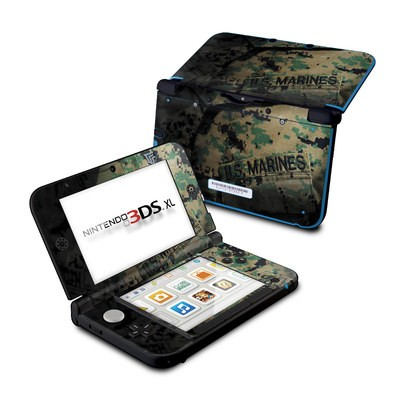 Nintendo 3DS XL Skin - Courage