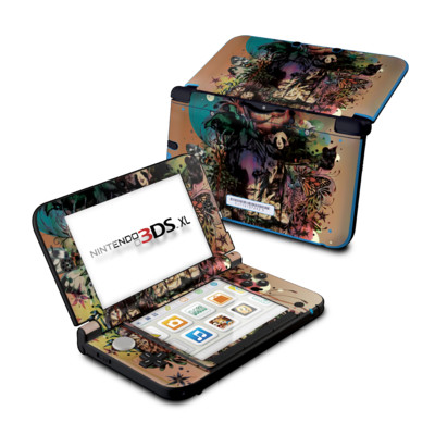 Nintendo 3DS XL Skin - Doom and Bloom