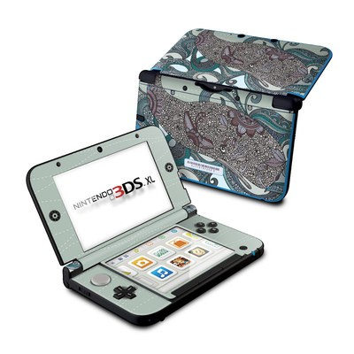 Nintendo 3DS XL Skin - Deep Blue Me