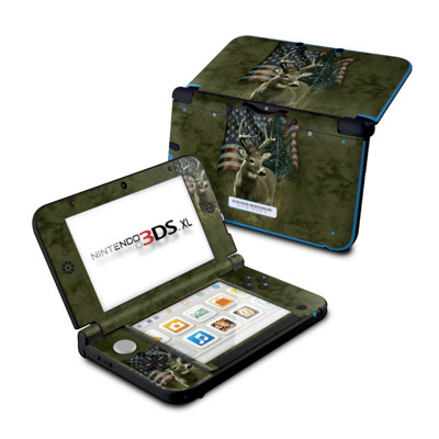 Nintendo 3DS XL Skin - Deer Flag