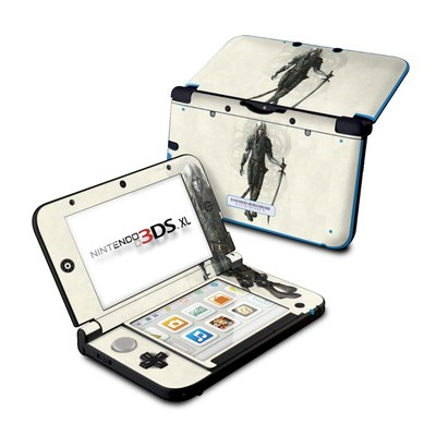 Nintendo 3DS XL Skin - Dark Elf