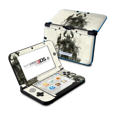 Nintendo 3DS XL Skin - Dark Knight