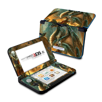 Nintendo 3DS XL Skin - Dragon Mage