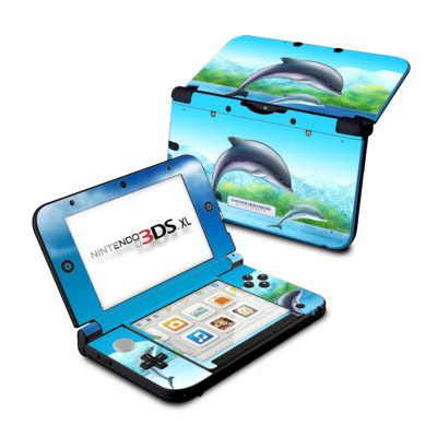 Nintendo 3DS XL Skin - Dolphins