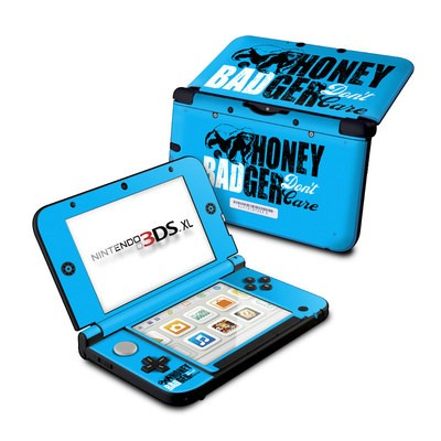 Nintendo 3DS XL Skin - Don't Care
