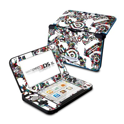 Nintendo 3DS XL Skin - Dots