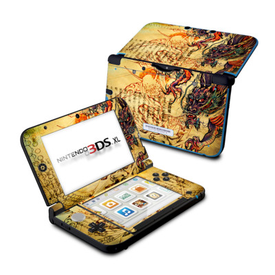 Nintendo 3DS XL Skin - Dragon Legend